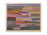 The Pyramid Clown Giclee-trykk av Paul Klee