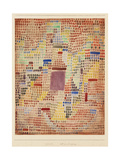 With the Entrance Giclee Print by Paul Klee