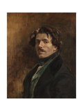 Self-Portrait Giclee Print by Eugene Delacroix