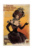 Smoke Turkish Regie Cigarettes, 1895 Giclee Print by Jean de Paléologue