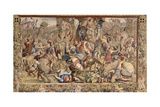 The Battle of Zama Giclee Print by Giulio Romano