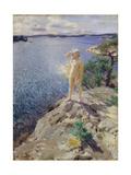 In the Skerries Giclée-tryk af Anders Leonard Zorn