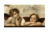 The Sistine Madonna (Detail) Giclée-vedos tekijänä Raphael,