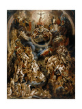The Last Judgement Giclee-trykk av Jacob Jordaens