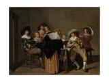 A Musical Party Lámina giclée por Dirck Hals