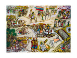 The Battle of Karbala Reproduction procédé giclée