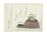 Tea Kettle on the Stove Giclée-Druck von Shotei Hokuju