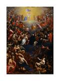 The Last Judgment Giclée-vedos tekijänä Leandro Bassano