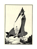 The Ascension of Saint Rose of Lima Giclee Print by Aubrey Beardsley