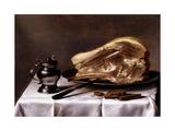 Natures mortes Reproduction procédé giclée par Pieter Claesz