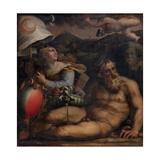 Allegory of Fiesole, 1563-1565 Giclée-Druck von Giorgio Vasari