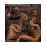Allegory of Mugello, 1563-1565 Giclée-Druck von Giorgio Vasari