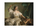 Allegory of Justice Combating Injustice Giclee Print by Jean-Marc Nattier