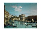 The Rialto Bridge Impressão giclée por  Canaletto