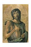 Saint John the Baptist Giclée-tryk af Alvise Vivarini