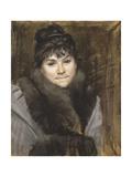 Portrait of Mme X, C. 1883-1884 Giclee-trykk av Maria Konstantinovna Bashkirtseva