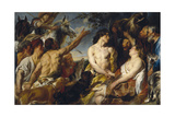Meleager and Atalanta Giclee-trykk av Jacob Jordaens