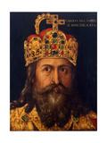 Charles the Great Reproduction procédé giclée par Albrecht Dürer