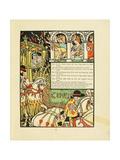Illustration for Fairy Tale Cinderella Impressão giclée por Walter Crane