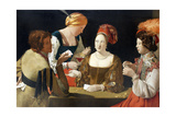 The Cheat with the Ace of Diamonds, C. 1635 Giclee Print by Georges de La Tour