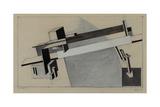 Bridge I Giclee-trykk av El Lissitzky