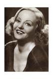 Tallulah Bankhead, American Actress, Talk-Show Host and Bonne Vivante, 1933 Giclee Print