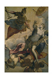 The Prosperity Giclée-tryk af Domenico Tintoretto