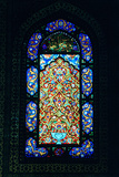 Stained Glass Window, Suleymaniye Mosque, 1557 Fotografisk trykk
