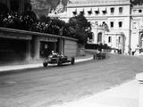 Alfa Romeo, Monaco Grand Prix, 1934 Premium fotografisk trykk