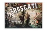 Frascati Giclée-vedos tekijänä Jules Chéret