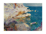 Rock at Jávea Reproduction procédé giclée par Joaquín Sorolla y Bastida