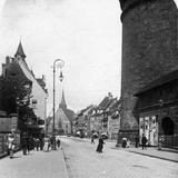 Strassenkarte, Nuremberg, Bavaria, Germany, C1900s Reproduction photographique par  Wurthle & Sons