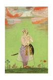 Mughal Officer, C. 1650 Giclée-tryk
