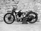 Norton Motorbike, an International Model 30, 1932 Valokuvavedos