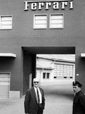 Enzo Ferrari, (1960S) Fotografie-Druck