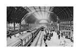 Paddington Station, London, 1926-1927 Giclee Print by  McLeish