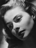 Ingrid Bergman, Swedish Actress and Film Star, Late 1930s-Early 1940s Photographic Print by Laszlo Willinger