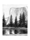 El Capitan, Yosemite Valley, California, USA, 1893 Giclee Print by John L Stoddard