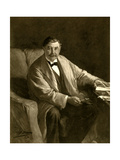 Thomas Power O'Connor, Irish Journalist and Mp, 1910 Giclee Print by John Henry Frederick Bacon