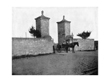 The Old City Gate, St Augustine, Florida, USA, 1893 Giclee Print by John L Stoddard