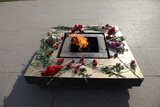 Eternal Flame in the Field of Mars, St Petersburg, Russia, 2011 Photographic Print by Sheldon Marshall