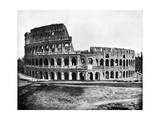 Exterior of the Colosseum, Rome, 1893 Giclee Print by John L Stoddard