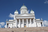 Lutheran Cathedral, Helsinki, Finland, 2011 Photographic Print by Sheldon Marshall