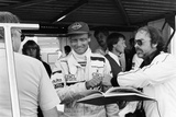 Niki Lauda, F1 Driver for Marlboro Mclaren, at the European Grand Prix, Brands Hatch, Kent, 1983 Photographic Print