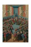 Verdict on John II of Alencon, 15th Century Giclee Print by Jean Fouquet