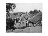 Village Near Calcutta, India, Late 19th Century Giclee Print by John L Stoddard