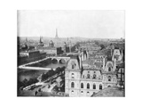 Panorama of Paris, France, Late 19th Century Giclee Print by John L Stoddard