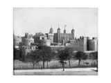 The Tower of London, England, Late 19th Century Giclee Print by John L Stoddard