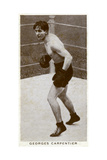 Georges Carpentier, French Boxer Giclee Print