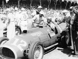 Alberto Ascari at the Wheel of a 4.5 Litre Ferrari, Indianapolis, 1952 Fotografie-Druck